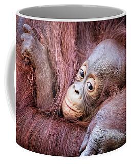 Baby Orangutan Coffee Mug