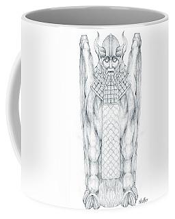 Babylonian Sphinx Lamassu Coffee Mug