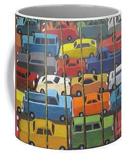 Back And Forth Coffee Mug by Glenn Quist