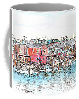 Back Bay, Atlantic City, Nj Coffee Mug