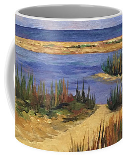 Back Bay Beach Coffee Mug