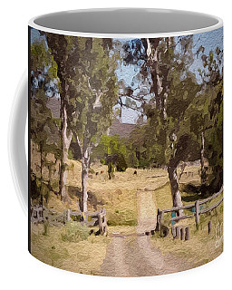 Back Country Farm Track Coffee Mug