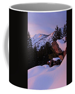 Back Country Glow Coffee Mug by Sean Sarsfield