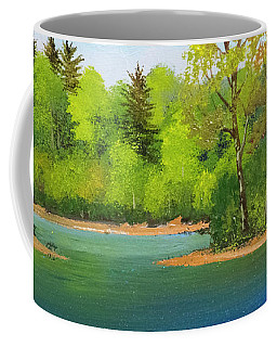 Back Country Pond Coffee Mug