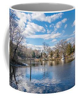 Back Creek Annapolis Md Coffee Mug