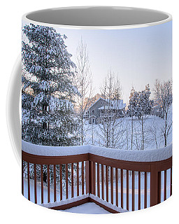 Morning Sun Winter Light Coffee Mug