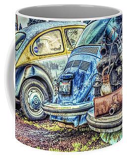 Coffee Mug featuring the photograph Back End Bugs by Jean OKeeffe Macro Abundance Art