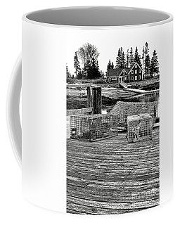 Back In Maine Coffee Mug by Olivier Le Queinec