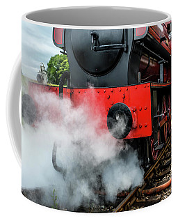 Coffee Mug featuring the photograph Back It Up by Nick Bywater