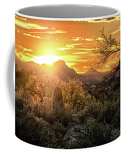 Back Lit Coffee Mug
