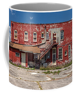 Coffee Mug featuring the photograph Back Lot by Christopher Holmes