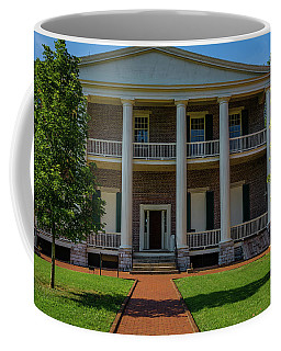 Coffee Mug featuring the photograph Back Porch - The Hermitage by James L Bartlett