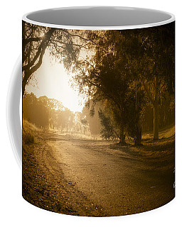Coffee Mug featuring the photograph Back Road Morning by Ray Warren