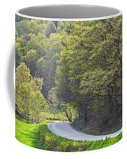 Coffee Mug featuring the photograph Back Road Spring by Alan L Graham