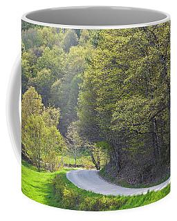 Back Road Spring Coffee Mug by Alan L Graham