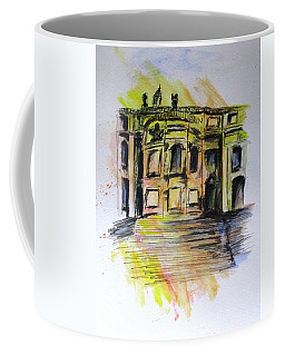 Back Side Basilca St Mary Major Coffee Mug