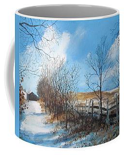 Back Slope Coffee Mug