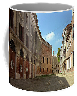 Coffee Mug featuring the photograph Back Street In Venice by Anne Kotan