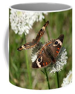Back To Back Butterflies Coffee Mug