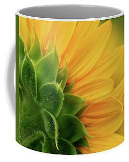 Back View Of Sunflower Coffee Mug