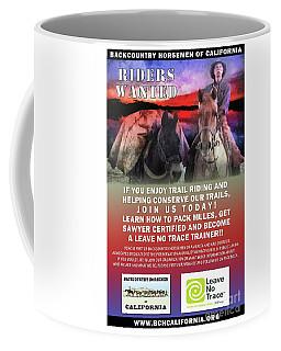 Backcountry Horsemen Join Us Poster II Coffee Mug