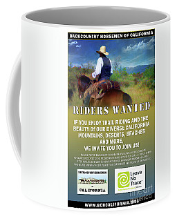 Backcountry Horsemen Join Us Poster Coffee Mug