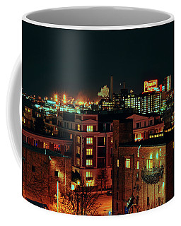 Backdrop Of Baltimore City Coffee Mug