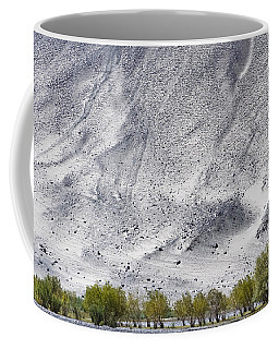 Backdrop Of Sand, Chumathang, 2006 Coffee Mug