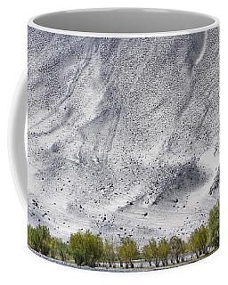 Backdrop Of Sand, Chumathang, 2006 Coffee Mug by Hitendra SINKAR