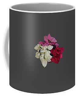 Background Choice-pointsettias Coffee Mug