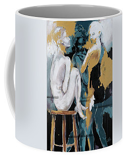 Backstage - Beauties Sharing Secrets Coffee Mug