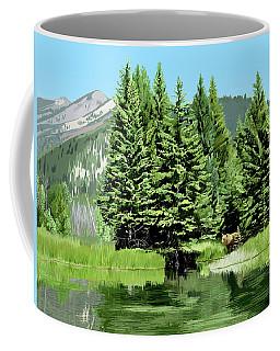 Backwater And Bear Coffee Mug