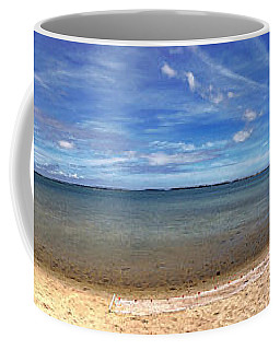 Backwater Bay Pano Coffee Mug