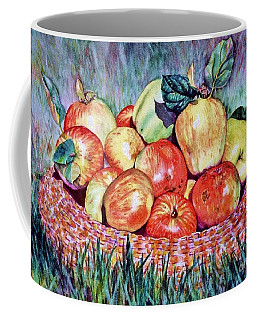 Backyard Apples Coffee Mug