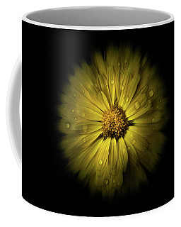 Coffee Mug featuring the photograph Backyard Flowers 10 Color Flow Version by Brian Carson