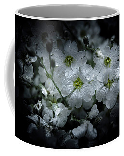 Coffee Mug featuring the photograph Backyard Flowers 51 Color Version by Brian Carson