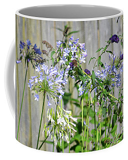 Backyard Flowers Coffee Mug