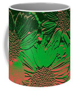 Abstract Flowers 1 Coffee Mug