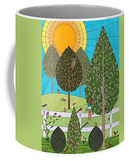 Backyard Gathering Coffee Mug