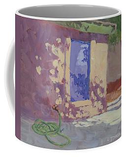 Backyard Shadows Coffee Mug