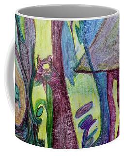 Backyard Spring Coffee Mug