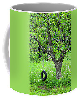 Backyard Spring Swing Coffee Mug