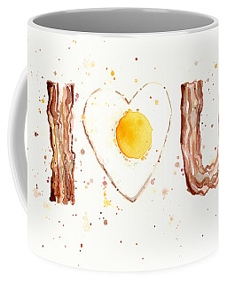 Bacon And Egg Love Coffee Mug