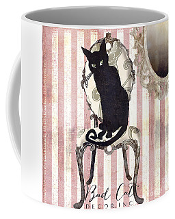 Coffee America Le Chat Art MugsFine Noir HI2EWD9