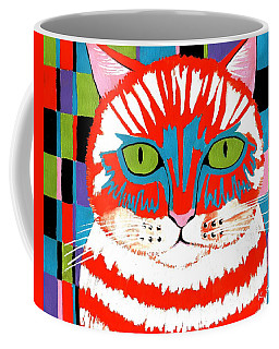 Bad Cattitude Coffee Mug