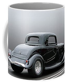 Coffee Mug featuring the photograph Bad In Black by Bill Dutting