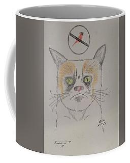 Bad Kitty Coffee Mug