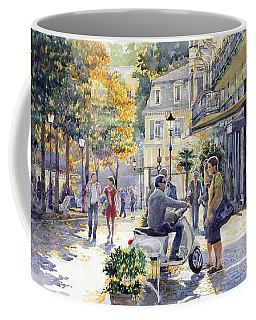 Baden-baden Sophienstr Last Warm Day Coffee Mug by Yuriy  Shevchuk