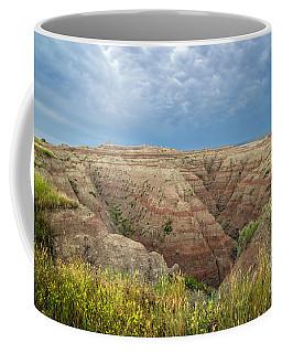 Badland Ravine Coffee Mug