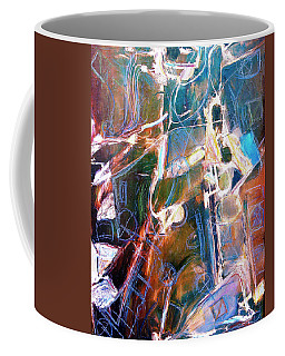 Coffee Mug featuring the painting Badlands 1 by Dominic Piperata